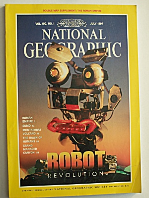 National Geographic, Volume 192, No. 1, July 1997 (Image1)