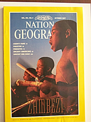 National Geographic, Volume 192, No. 4, October 1997