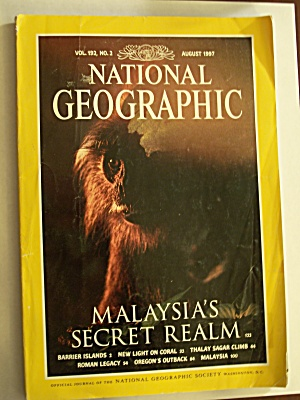 National Geographic, Volume 192, No. 2, August 1997 (Image1)