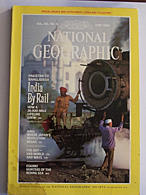 National Geographic, Volume 165, No. 6, June 1984 (Image1)