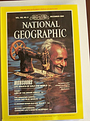 National Geographic, Volume 166, No. 6, December 1984 (Image1)
