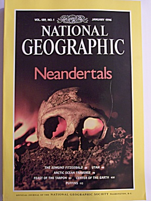 National Geographic, Volume 189, No. 1, January 1996 (Image1)