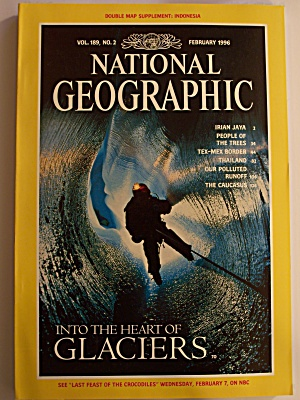 National Geographic, Volume 189, No. 2, February 1996 (Image1)