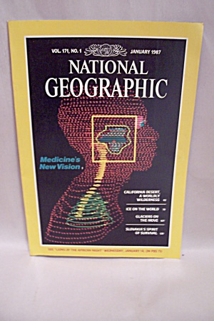 National Geographic Magazine, Vol. 171, No. 1, Jan 1987 (Image1)