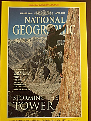 National Geographic, Volume 189, No. 4, April 1996