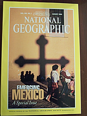 National Geographic, Volume 190, No. 2, August 1996