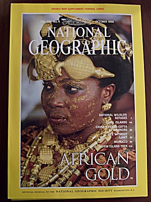 National Geographic, Volume 190, No. 4, October 1996