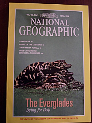National Geographic, Volume 185, No. 4, April 1994