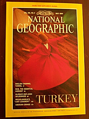 National Geographic, Volume 185, No. 5, May 1994