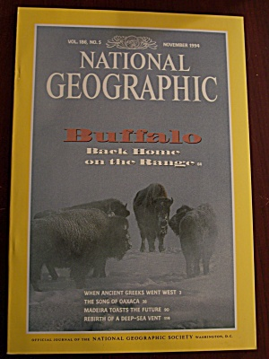 National Geographic, Volume 186, No. 5, November 1994 (Image1)