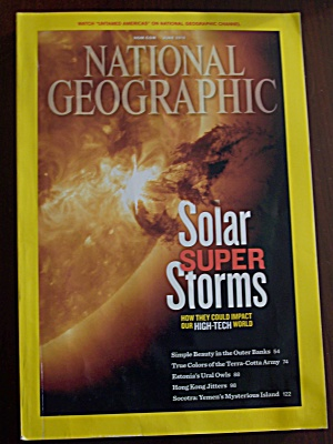 National Geographic, Volume 221, No. 6, June 2012