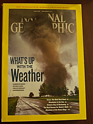 National Geographic, Volume 222, No. 3, September 2012