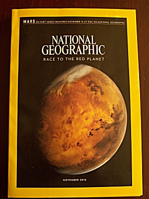 National Geographic, Volume 230, No. 5, November 2016 (Image1)