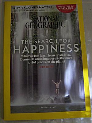 National Geographic, Volume 232, No. 5, November 2017 (Image1)