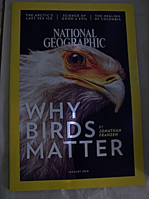 National Geographic, Volume 233, No. 1, January 2018