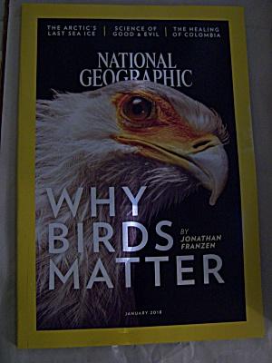 National Geographic, Volume 233, No. 1, January 2018 (Image1)