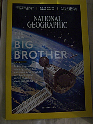 National Geographic, Volume 233, No. 2, February 2018 (Image1)
