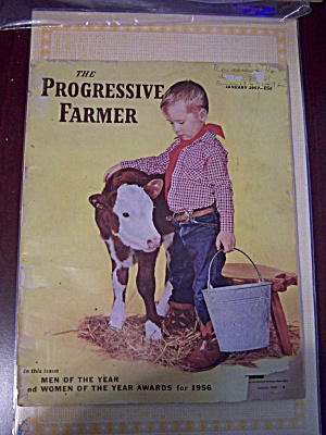 The Progressive Farmer, Vol. 72, No. 1, January 1957 (Image1)