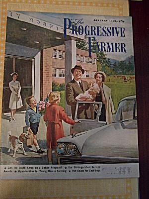 The Progressive Farmer, Vol. 77, No. 1, January 1962 (Image1)