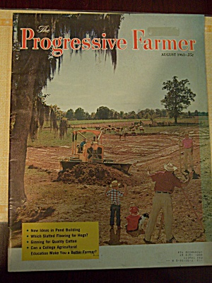 The Progressive Farmer, Vol. 78, No. 8, August 1963 (Image1)