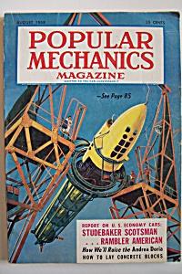 Popular Mechanics, Vol. 110, No. 2, August 1958 (Image1)