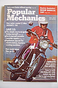 Popular Mechanics, Vol. 137, No. 2, February 1972 (Image1)