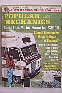 Popular Mechanics, Vol. 135, No. 1, January 1971 (Image1)