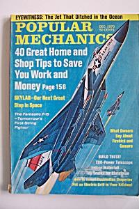 Popular Mechanics, Vol. 134, No. 6, December 1970 (Image1)