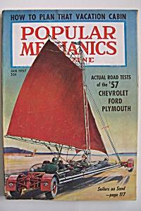 Popular Mechanics, Vol. 107, No. 1, January 1957 (Image1)