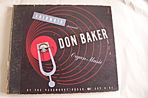 Don Baker-organ Music