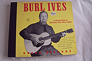 Burl Ives - A Collection Of Ballads And Folk Songs