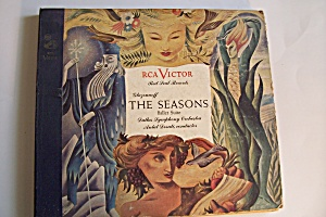 Glazounoff-the Seasons Ballet Suite