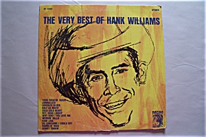 The Very Best Of Hank Williams  #SE 4168 (Image1)