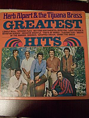 Herb Alpert & The Tijuana Brass Greatest Hits (Image1)