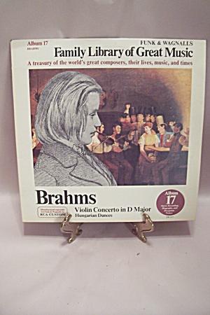 Brahms - Violin Concerto in D Major, Hungarian Dances (Image1)
