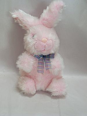Pink Plush Rabbit (Image1)