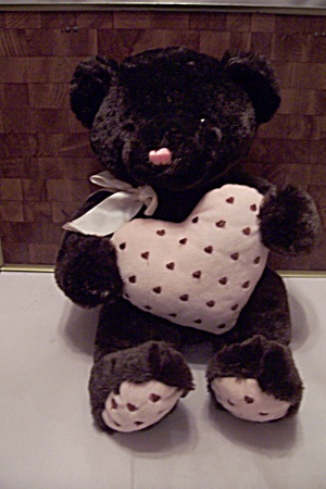 Brown Bear W/pink Heart