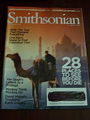 Smithsonian, Vol. 38, No. 10, January 2008 (Image1)