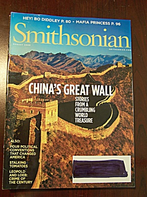 Smithsonian, Vol. 39, No. 5, August 2008 (Image1)