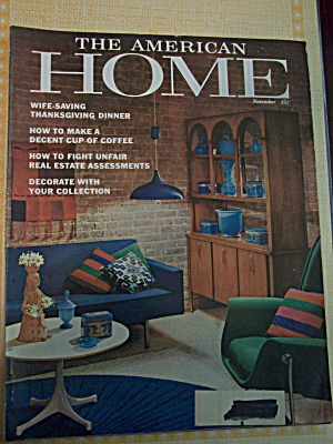 The American Home, Vol.lxiv,no.11,november1961
