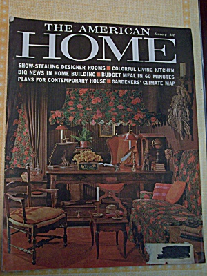 The American Home, Vol.LXV,No.1,January 1962 (Image1)
