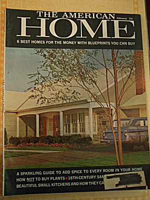 The American Home, Vol.LXV,No.2, Febuary1962 (Image1)