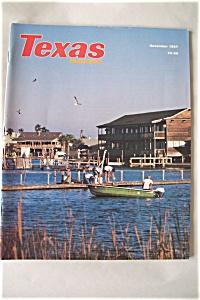 Texas Highways, Vol. 34, No. 11, November 1987 (Image1)