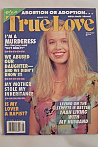 True Love, Vol. 117, No. 8, August 1992 (Image1)