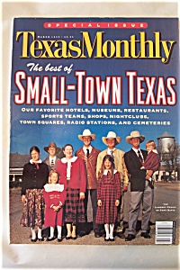 Texas Monthly, Vol. 27, No. 3, March 1999 (Image1)