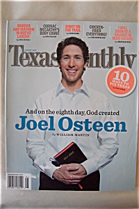 Texas Monthly, Vol. 33, No. 8, August 2005 (Image1)