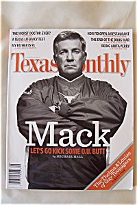 Texas Monthly, Vol. 33, No. 9, September 2005 (Image1)