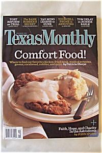 Texas Monthly, Vol. 33, No. 11, November 2005 (Image1)