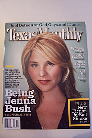 Texas Monthly, Vol. 35, Issue 11, November 2007 (Image1)
