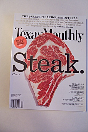 Texas Monthly, Vol. 35, Issue 12, December 2007 (Image1)